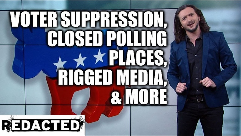 ~283~ Voter Suppression Closed Polling Places Rigged Media More