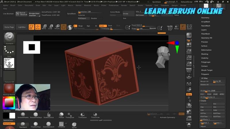 Học Zbrush dễ như lớp một Zbr 2020 với hai tính năng tuyệt vời được chờ đợi từ lâu