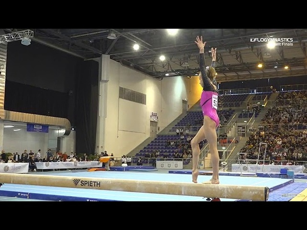 Victoriia Listunova Russia Beam 13 85 2019 City of Jesolo Trophy