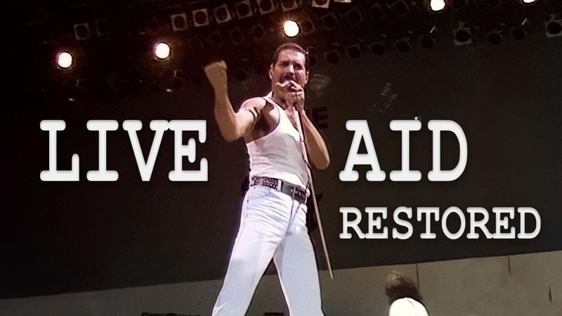 Queen Live Aid 1985 Definitive Restoration