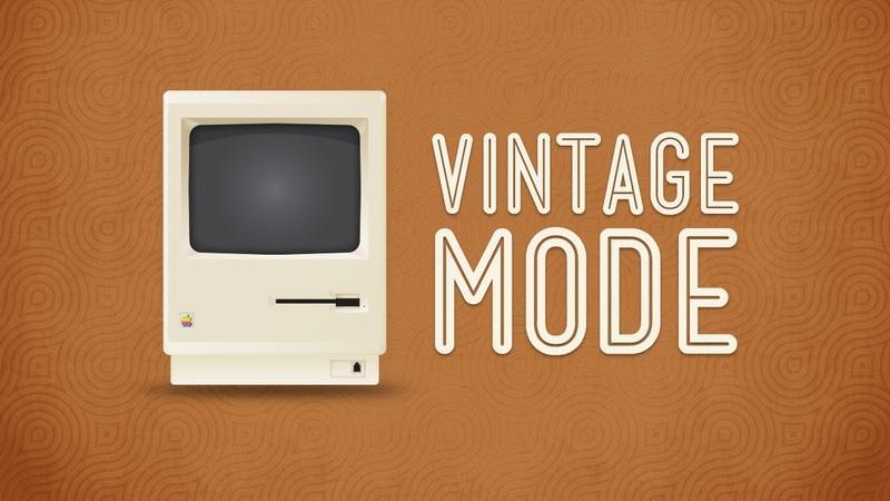 Sublime Text Vintage Mode