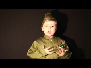 Надо так спеть эту песню, чтобы вся страна встала - 4 летний мальчик поет