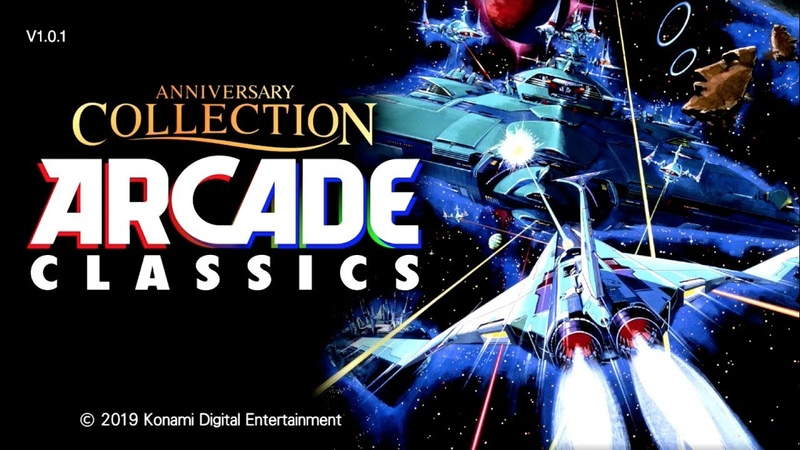 Anniversary Collection: Arcade Classics (Switch eShop)- Gameplay Footage