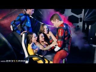 Brazzers: Romi Rain & Abigail Mac & Kimmy Granger & Katrina Jade