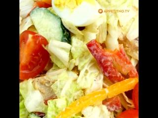 Топ 5 замечательных салатов для праздничного стола!!!