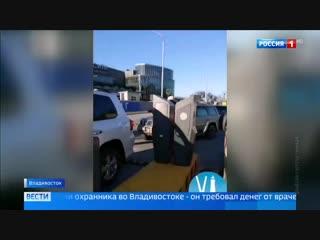 Во Владивостоке со скорой, вызванной в торговый центр, потребовали деньги за парковку