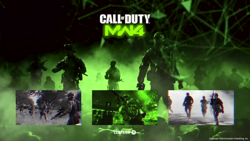 Call of Duty Modern Warfare 4 Main Menu Dynamic Concept by WolfEnix