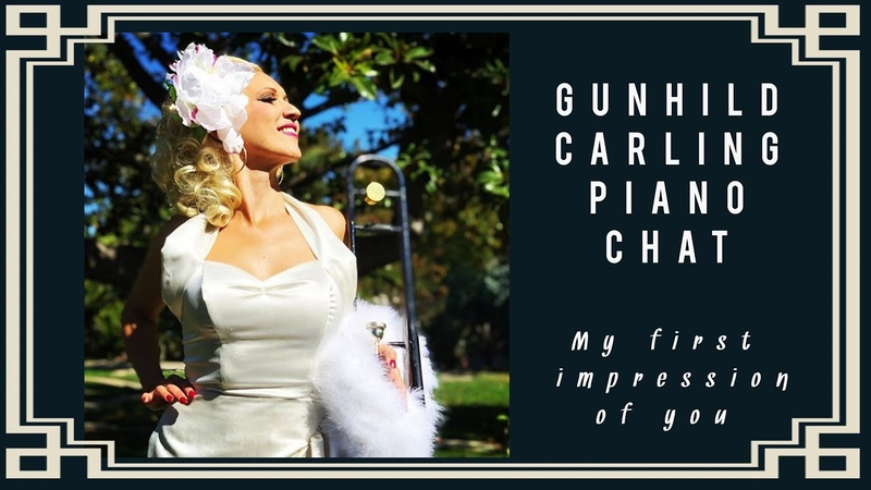 My first impression of you- Gunhild Carling piano Chat - song requests