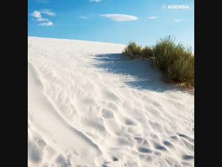 Самая большая в мире долина гипсовых дюн