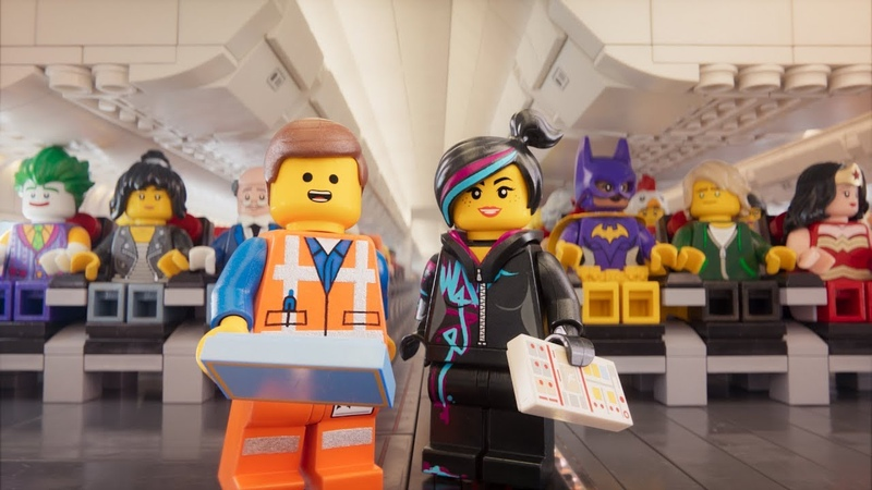 The LEGO Movie Characters present Safety Video - Turkish Airlines