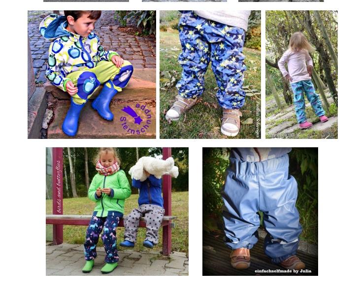 Утепленные штанишки на деток 74/80 -146/152 +МК по шитью в файле