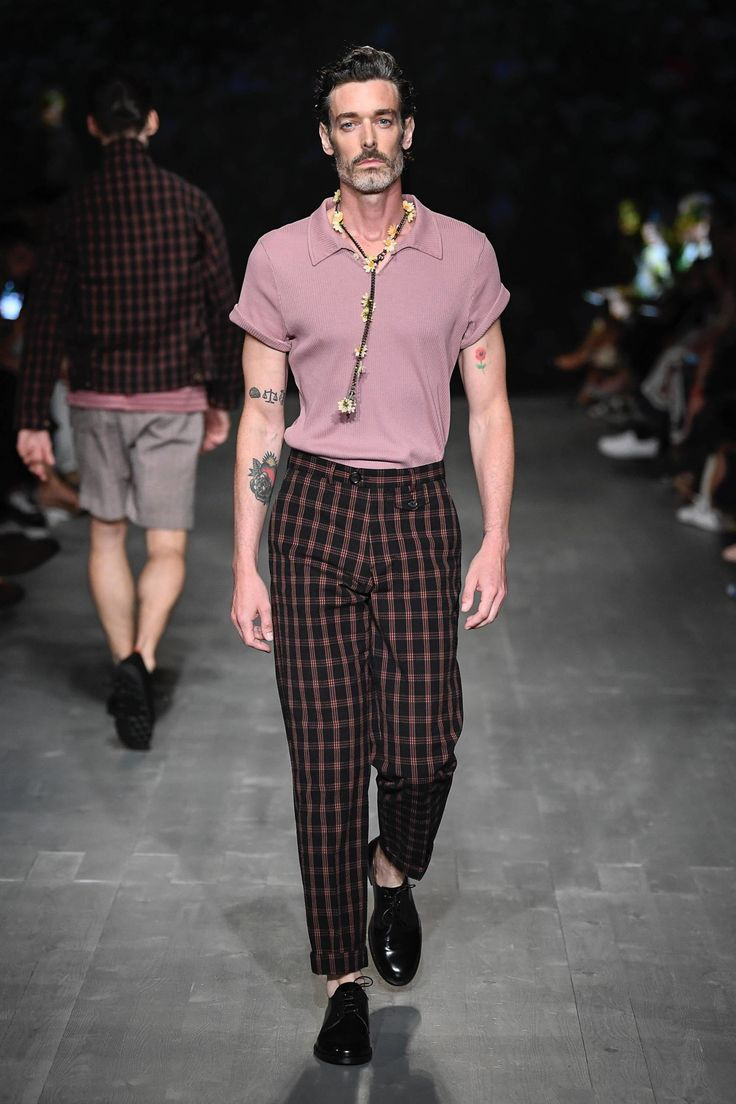 Мужская мода - весна 2019