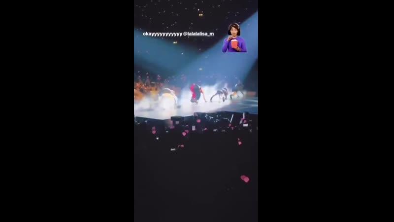 Джейд (участница Little Mix) на концерте BLACKPINK