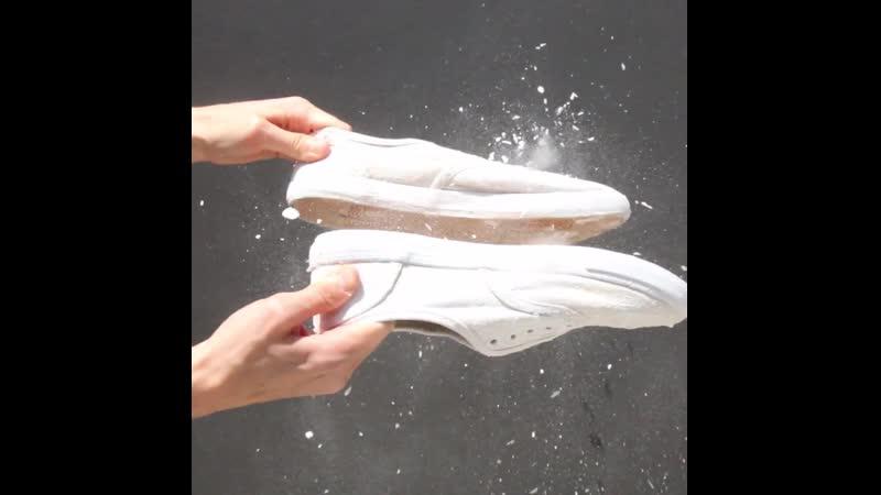 Как сделать обувь снова белой ☺