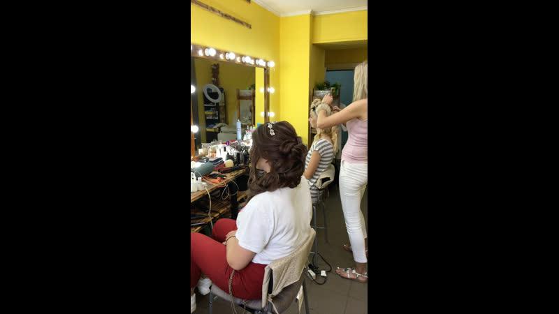 Занятие N5 ❤️ Греческая коса 🔥