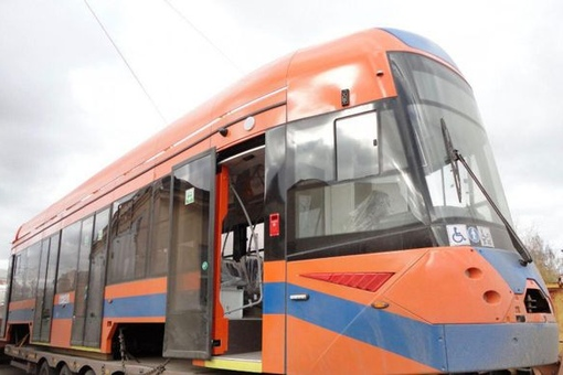 Новый трамвай, развивающий скорость до 75 км/ч,