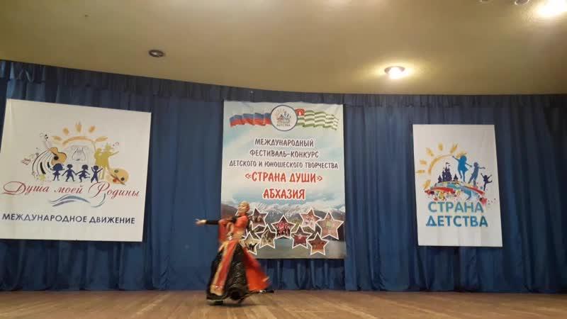 Стилизованный народный танец Лезгинка Юлия Ахмедова Аймани г Астрахань