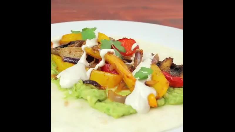 фахитос из овощей