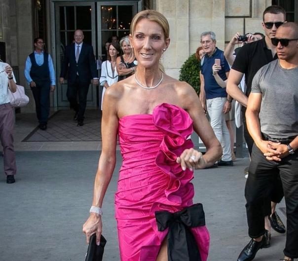 Селин Дион на Неделе моды в Париже!