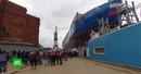 В Петербурге спустили на воду атомный ледокол «Урал»