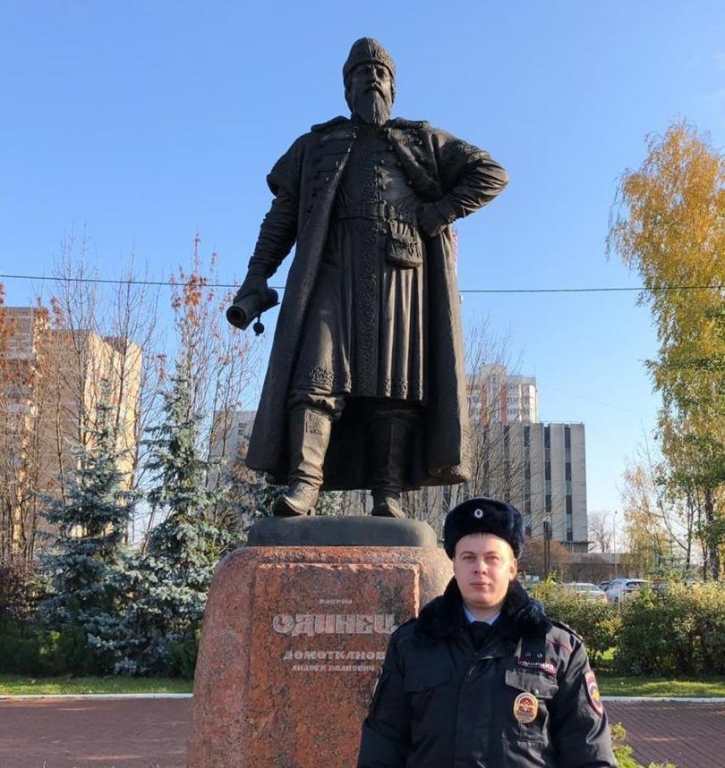 Одинцовский участковый Илья Ефимов победил в этапе