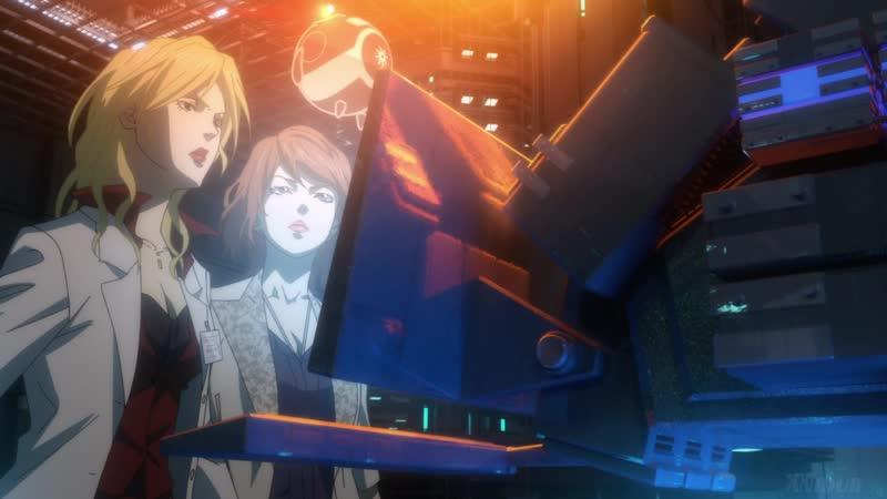 Movie Психопаспорт 3 Первый инспектор Psycho Pass 3 First Inspector часть 2 Озвучка AniDub 2020