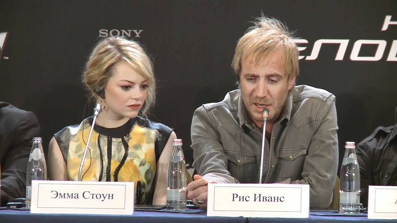 Пресс конференция Нового Человек Паука в Москве