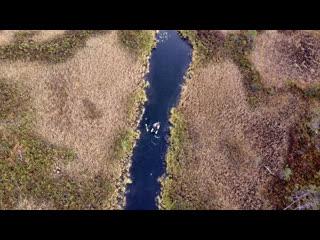 Закрытие сезона. Начало похода. Съемки с квадрокоптера. Рыбалка на Кольском полуострове