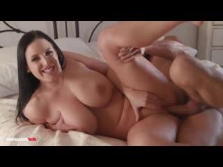 Трахает послушную брюнетку, milf girl sex porn busty big milk natural tit boob ass hard fuck love bang pussy cum (Hot&Horny)
