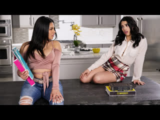 Serena Santos, Vanessa Sky (The Threesome Tutorial / )
