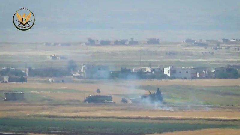 الجبهة الوطنية للتحرير||تدمير عربة BMP لعصابا