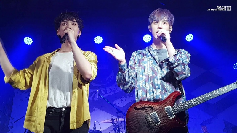 [20.10.18] N.Flying (2IDIOTS) @ FLY HIGH PROJECT NOTE1. 비행