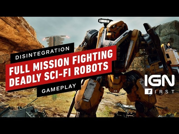 Disintegration Watch a Full Mission Fighting Deadly Sci-Fi Robots - IGN First