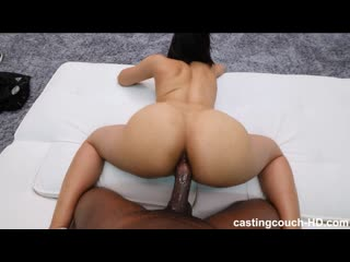 Cindy - Anal Sex Casting Asian Teen First Time Big Black Cock BB
