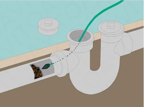Как прочистить канализационные трубы за 5 минут: 3 самых простых способа