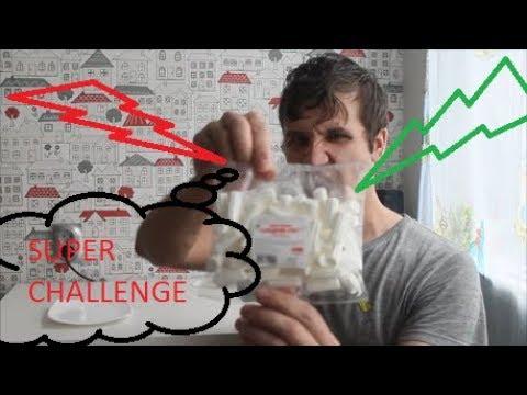 SUPER CHALLENGEПОЖИРАТЕЛЬ БЕЛОГО СНЕЖКА!!😂👏👍👍👍EATER WHITE SNOW