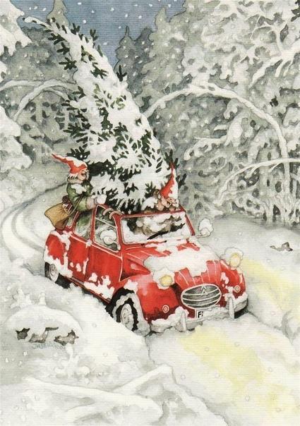 Рисование: Сказочная зима Идеи