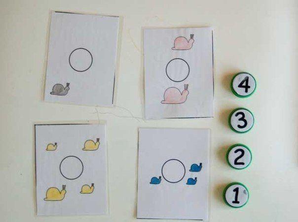 ИДЕИ ДЛЯ ЗAНЯТИЙ ПО МАТЕМАТИКЕ Закрепляем знание цифр, учимся вычитать и склaдывать, развиваем мелкую