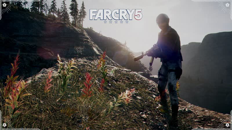 Играю в Far Cry 5 для Цветка