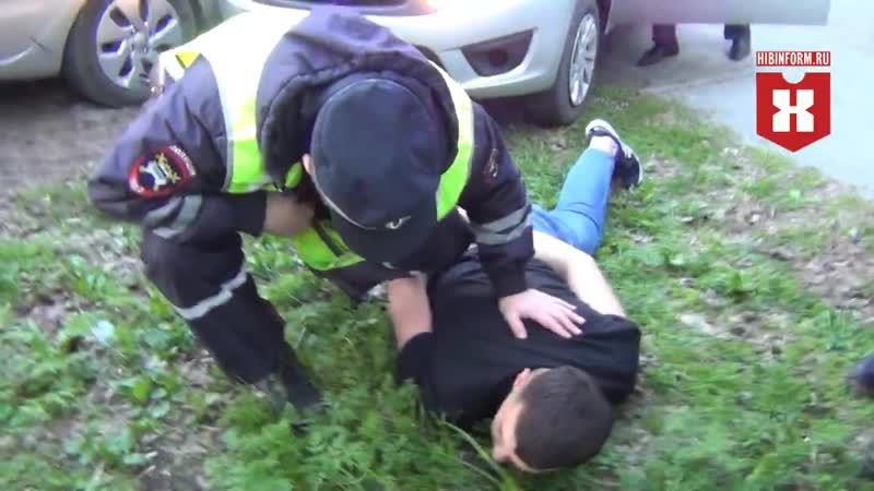 Задержание пьяного летчика