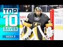 Top 10 Saves from Week 2 2019 20 NHL Season 720p