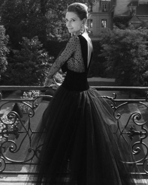 62-лeтняя Одри Хепберн, 1991 год
