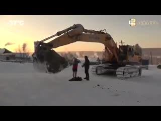 Что творится зимой в Красноярске - Заметки строителя