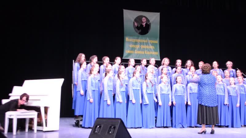 Старший хор ДШИ Невская акварель Звонили звоны в Новгороде