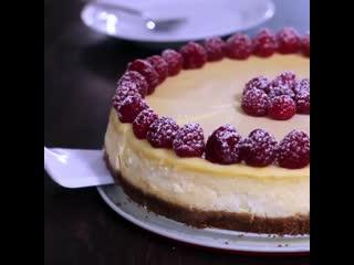 Классический чизкейк (Ингредиенты под видео) | Больше рецептов в группе Десертомания