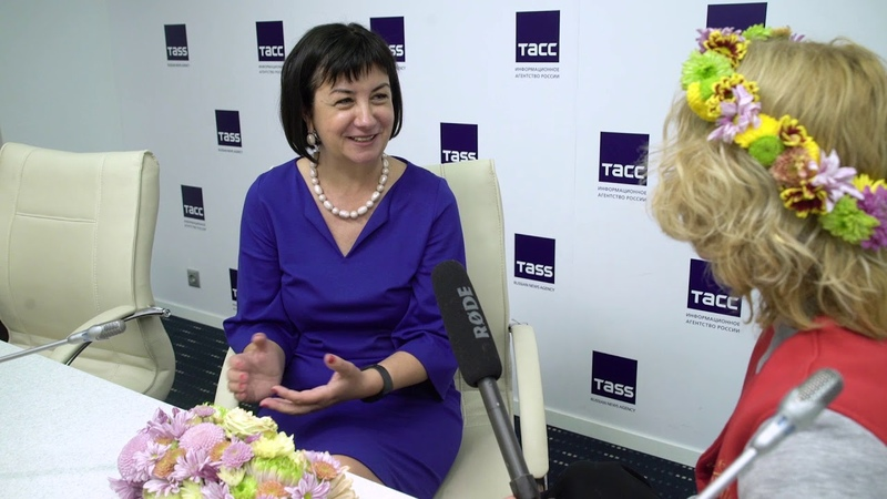 В гостях у ТАСС на пресс-конференции Русского музея с нашими цветочными сюрпризами!