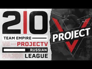 Team Empire vs ProjectV  RML 2019 Highlights