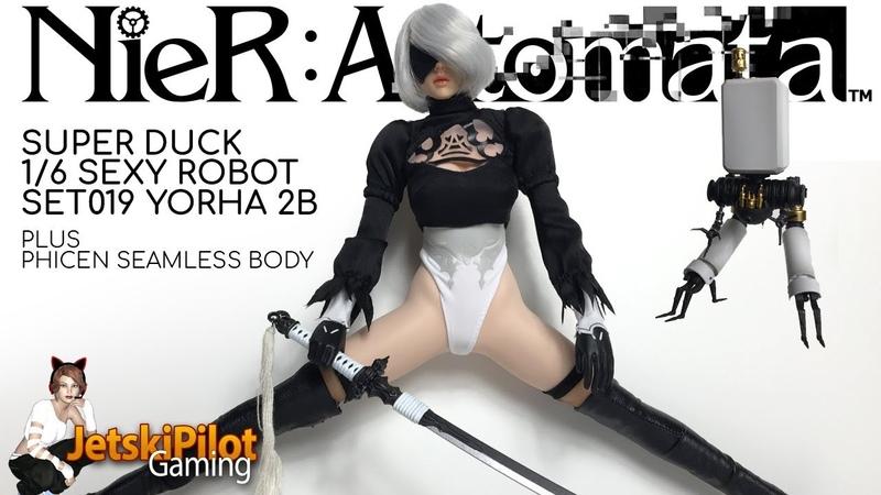 UNBOX REVIEW: Super Duck Nier: Automata 1/6 YoRHa 2B Set
