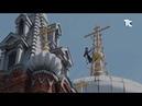 Реставрация купола храма Иконы Божией Матери Всех скорбящих Радость