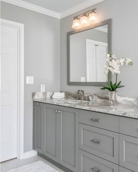 gray bathroom walls - 735×915